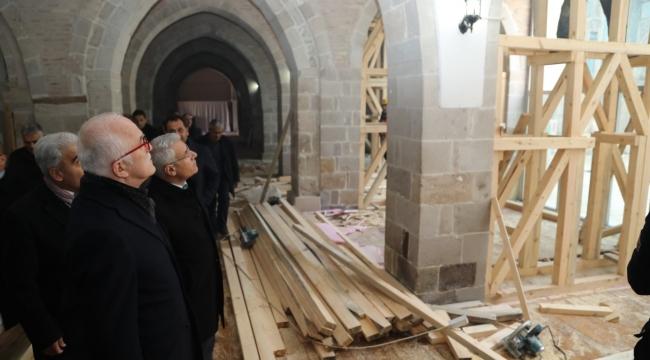 Şahabe-i Kübra Medresesi Ayağa Kaldırılacak