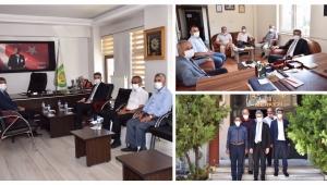 Vali Baruş'tan Oda, Birlik ve Derneklere Ziyaret