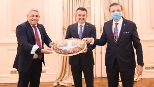 Sadıkoğlu, Bakan Pakdemirli'ye Teşekkür Etti