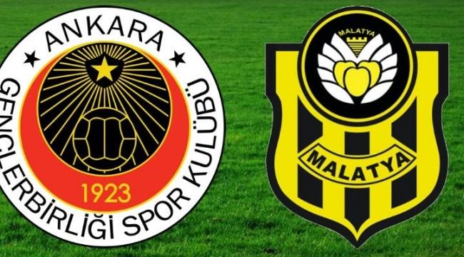 Gençlerbirliği 1-1 Y.Malatyaspor