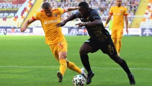 Yeni Malatyaspor-Kayserispor : 1-1