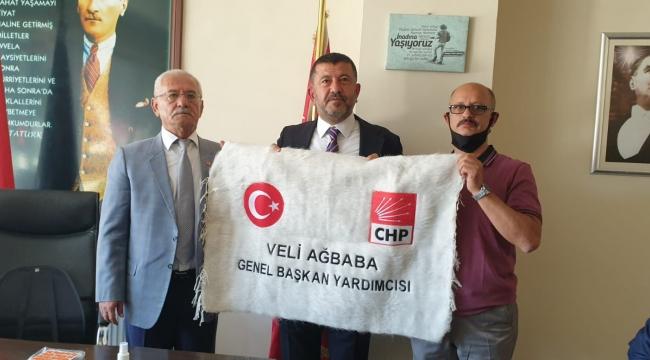 CHP Ekonomi ve Esnaf Masası Heyeti Siirt'te