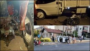 Doğanşehir Karayolunda Trafik Kazası