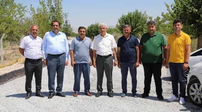 """Başkan Güder: """"Battalgazi Belediyesi Hizmete Doymuyor"""""""