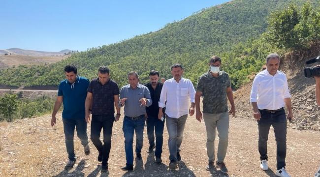 CHP Heyeti Ağbaba Başkanlığında Tunceli'de