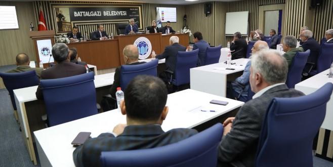 Battalgazi Belediyesi Meclisi, Kasım Ayı Toplantısını Gerçekleştirdi